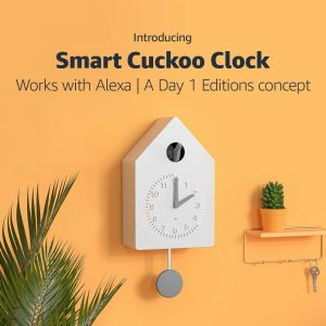 picture of Smart Cuckoo Clock, Works with Alexa
