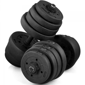 picture of SmileMart 66 lbs Adjustable Dumbbell Set Sale