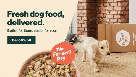 picture of 50% off your first The Farmer's Dog order