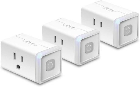 picture of Expiring Today: TP-Link Kasa HS103P3 15-Amp Smart Plugs, 3 Pack, Sale