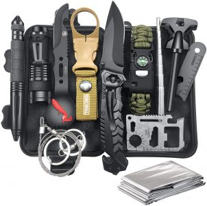 picture of Veitorld 12-in-1 Emergency Survival & Camping Kit Sale