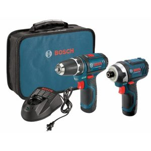 picture of Bosch 2-Tool 12-Volt Tool Combo Kit with Case Sale