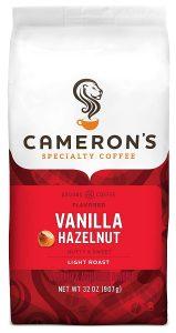 picture of Cameron's Coffee Roasted Ground Coffee, Vanilla Hazelnut, 32oz, Sale