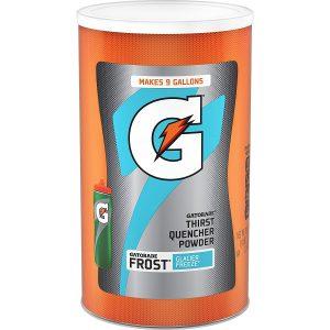 picture of Gatorade Thirst Quencher Powder, Frost Glacier Freeze, 76.5oz