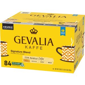 picture of Gevalia Signature Blend Mild Roast K-Cup Coffee Pods (84 Pods) Sale