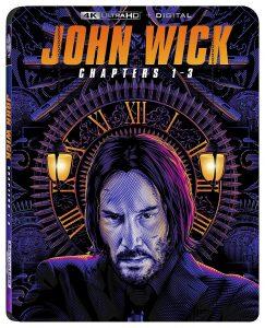picture of John Wick: Chapters 1-3 [4K + Digital] [Blu-ray] Sale