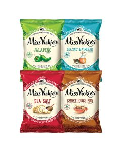 picture of Miss Vickie's Kettle Cooked Potato Chip Variety Pack, 28 Count Sale