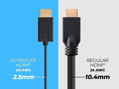 picture of Monoprice 4K Ultraflex High Speed HDMI Cable 3pk Sale