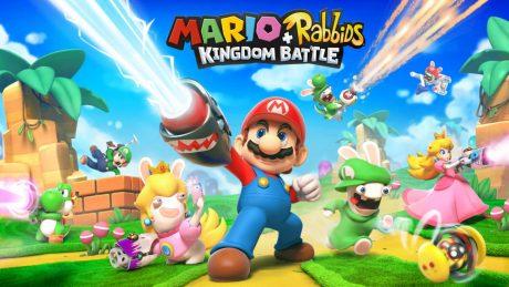 picture of Nintendo Switch - Mario + Rabbids Kingdom Battle