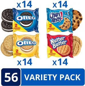 picture of Oreo Original, Oreo Golden, Chips AHOY! 56 Snack Pack Sales