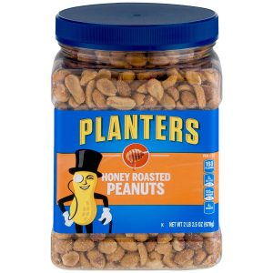 picture of Planters Honey Roasted Peanuts 35-oz Jar, 2-Pack, Sale
