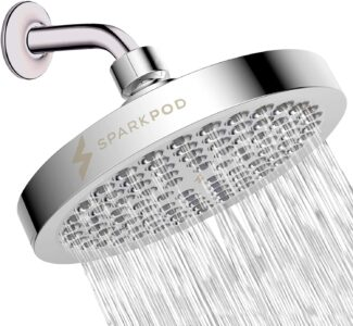 picture of SparkPod High Pressure Rain Shower Head Sale