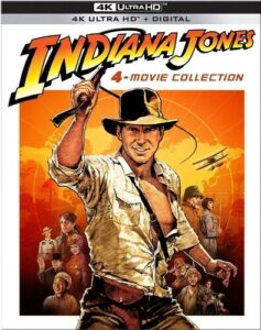 picture of Indiana Jones 4-Movie Collection Sale