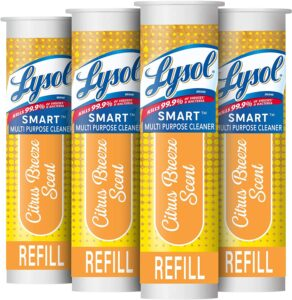 picture of Lysol Smart Refill Cartridges, 4 Count, Sale
