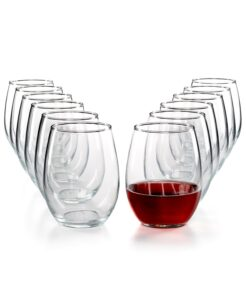 picture of Martha Stewart 12-pk Stemless Wine Glasses Sale