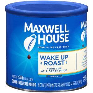 picture of Maxwell House Wake Up Roast Medium Roast Ground Coffee (30 oz)