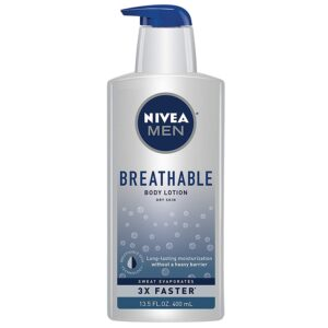 picture of Nivea Men Breathable Body Lotion, 13.5oz, Sale