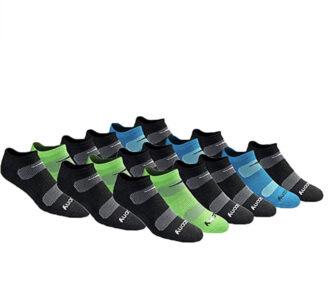 picture of Saucony Men's Mesh Ventilating No-Show Socks, 18-pk, Sale