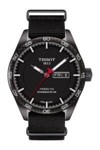 picture of Tissot Men's PRS516 Powermatic Textile Strap Watch Sale