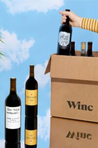 picture of Winc 4 bottles of Wine $29.95