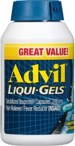 picture of Advil Pain Reliever and Fever Reducer Liqui-Gels, 200 Count Sale
