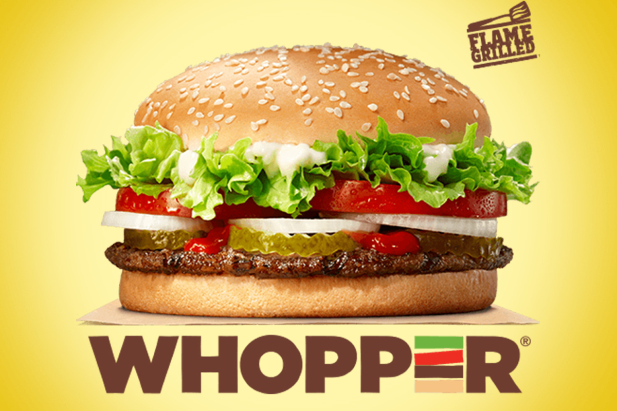 Burger King is giving away free Whoppers today – but only until 11am