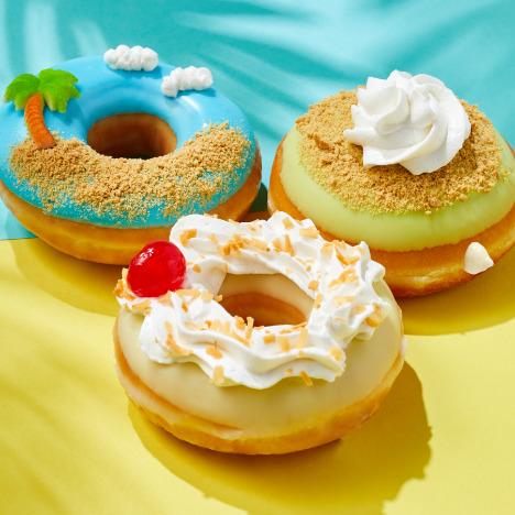 Krispy Kreme Key Lime Pie, Island time donuts