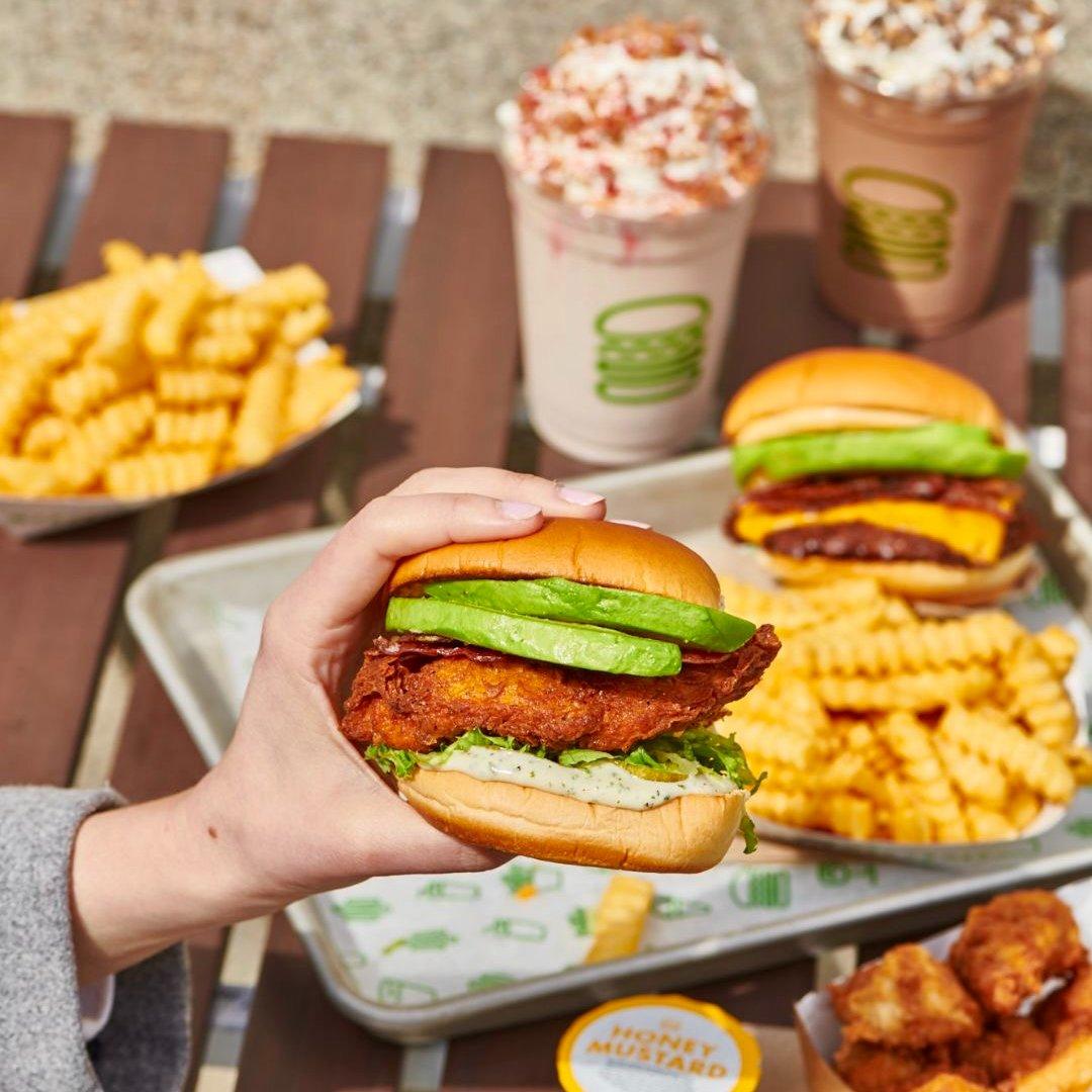 Shake Shack Avocado Bacon burger