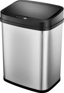 picture of Insignia 3-Gallon Stainless Steel Automatic Trash Can Sale