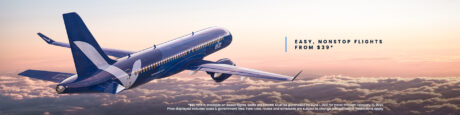 picture of New airline Breeze airways: Flights from $39