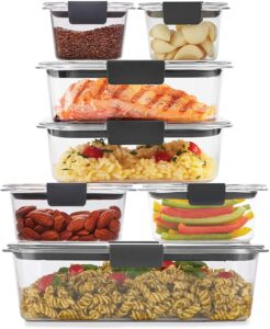 picture of Rubbermaid 14-Piece Brilliance Food Storage Container Set Sale