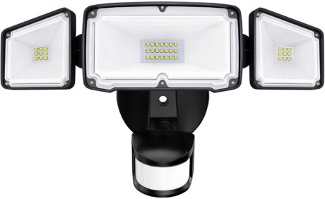 picture of Amico 3-Head Motion Sensor LED Security Lights Sale