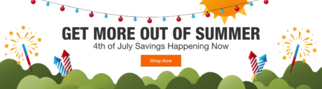 picture of Home Depot Fourth Of July Sale