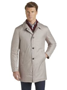 picture of Jos A Bank Travel Tech Tailored Fit Trench Coat Sale