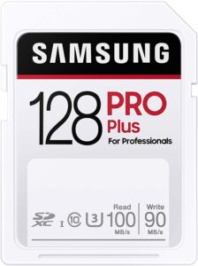 picture of Samsung PRO Plus SDXC Full Size SD Card 128GB Sale