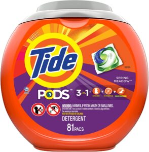 picture of Tide Pods 3 in 1 Laundry Detergent Pacs, 81-ct Sale