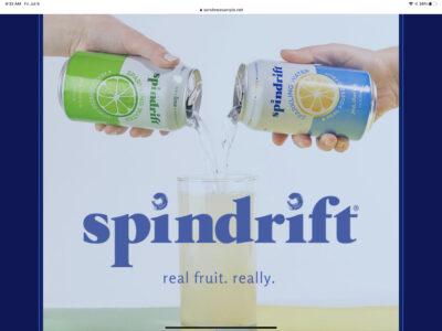 Free spindrift sample