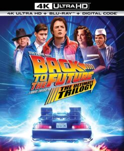 picture of Back to the Future: The Ultimate Trilogy (4K UHD + Blu-ray + Digital) Sale