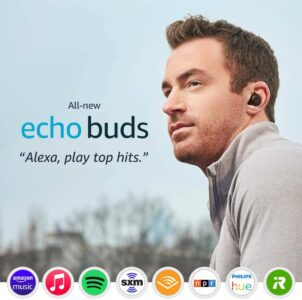 picture of All-new Echo Buds (2nd Gen) | Wireless earbuds with active noise cancellation