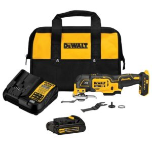 picture of DEWALT XR 20-Volt Max XR 3-Speed Oscillating Tool Kit with Charger and Bag