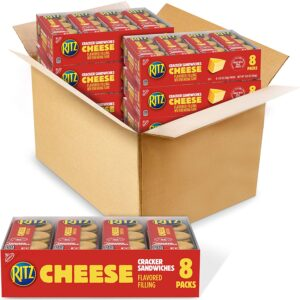 picture of Ritz Cheese Sandwich Crackers, 64.8-oz (48-pk) Sale