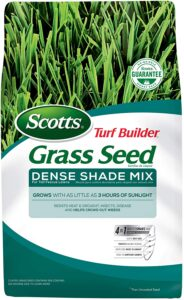 picture of Scotts Turf Builder Grass Seed Dense Shade Mix for Tall Fescue Lawns, 7 lb Sale