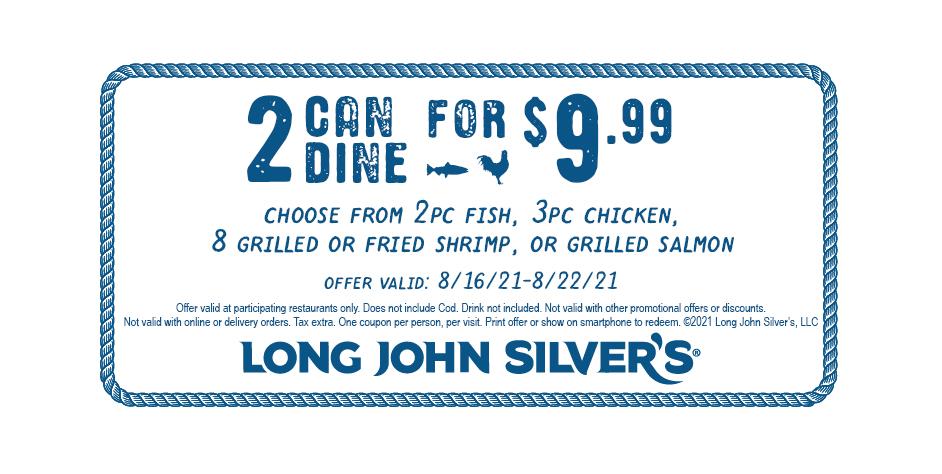 Long John Silver's Coupon
