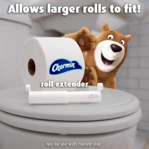 picture of Free Charmin Toilet Roll Extender