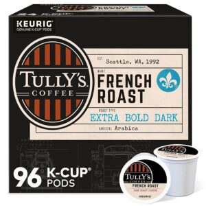 picture of Tully's Coffee French Roast Single-Serve K-Cup, 96 Count Sale