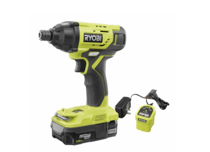 picture of Ryobi ONE+ 18V Cordless Impact Driver Kit w/ Battery & Charger Sale