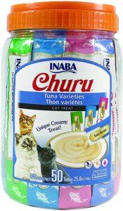 picture of NABA Churu Lickable Purée Natural Cat Treats, 50ct, Sale