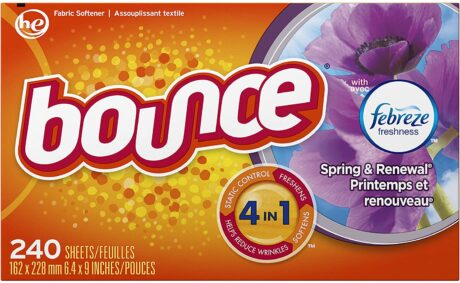 picture of Bounce w/ Febreze Scent 240-Count Fabric Softener Sheets Sale