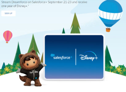 picture of Free 12 Months of Disney+ for Streaming a Dreamforce Conference