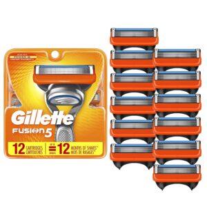 picture of Gillette Fusion5 Men's Razor Blade, 12-Pack, Sale